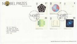 2001-10-02 Nobel Prizes T/House FDC (80410)