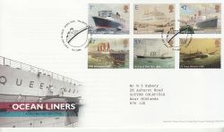 2004-04-13 Ocean Liners Stamps T/House FDC (80474)