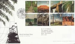 2005-04-21 World Heritage Stamps T/House FDC (80504)
