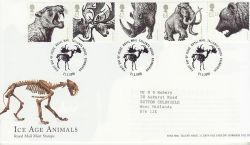2006-03-21 Ice Age Animals Stamps T/House FDC (80540)