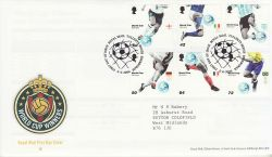2006-06-06 World Cup Football T/House FDC (80542)
