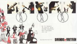 2006-10-03 Sounds Of Britain Stamps T/House FDC (80545)