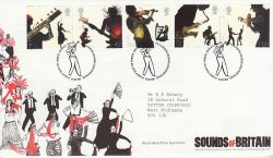 2006-10-03 Sounds Of Britain Stamps T/House FDC (80546)