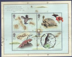 2009-02-12 Charles Darwin Stamps M/S Used (80614)