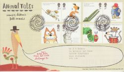 2006-01-10 Animal Tales Stamps T/House FDC (80716)