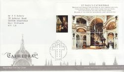 2008-05-13 Cathedrals Stamps M/S T/House FDC (80729)