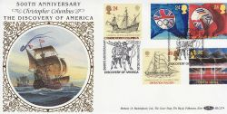 1992-04-07 Europa Stamps Greenwich SE10 FDC (80733)
