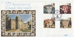 1990-10-16 Astronomy Stamps Armagh Observatory FDC (80759)