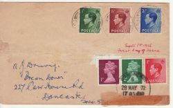 1936-09-01 King Edward VIII Stamps FDC (80793)