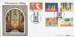 1996-10-28 Christmas Stamps Westminster Abbey FDC (80892)