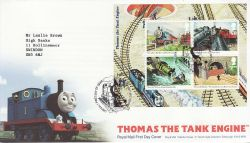 2011-06-14 Thomas the Tank Engine M/S Box FDC (80935)