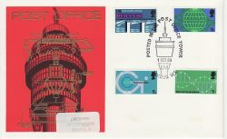 1969-10-01 Post Office Technology PO Tower London W1 FDC (81096)