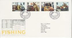 1981-09-23 Fishing Industry Stamps Bureau FDC (81218)