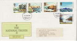 1981-06-24 National Trust Stamps Kings Lynn FDC (81220)