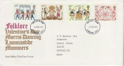 1981-02-06 Folklore Stamps London FDC (81222)