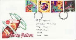 1995-06-06 Science Fiction Stamps Glos FDC (81232)
