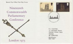 1973-09-12 Parliamentary Conference Bureau FDC (81270)