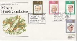 1980-09-10 British Conductors Stamps London SW3 FDC (81448)