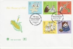 2003-02-25 Secret of Life Stamps Cambridge FDC (81527)