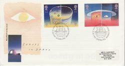 1991-04-23 Europe in Space Stamps Bureau FDC (81573)