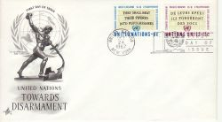 1967-10-24 United Nations Disarmament Stamps FDC (82025)