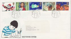 1982-01-13 Christmas Stamps From 1981 Kelloggs Souv (82046)