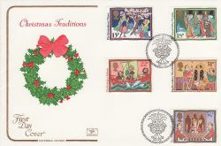 1986-11-18 Christmas Stamps Bethlehem FDC (82058)