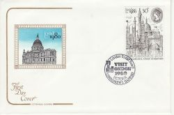 1980-04-09 London Stamp Exhibition SW1 FDC (82064)