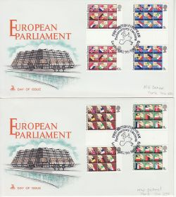 1979-05-09 Elections Gutters London SW1 x2 FDC (82092)