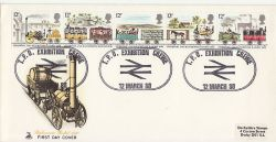 1980-03-12 Railway Stamps TPO Crewe FDC (82093)