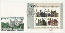 1978-03-01 Historic Buildings M/S London BFPS FDC (82094)