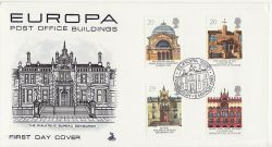 1990-03-06 Europa Stamps Edinburgh FDC (82096)
