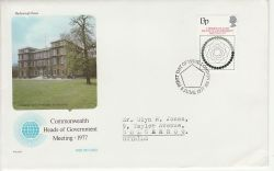 1977-06-08 Heads of Government London SW FDC (82101)