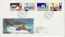 1985-06-18 Safety At Sea Stamps London WC2 FDC (82127)