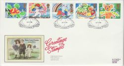 1989-01-31 Greetings Stamps Lover Salisbury FDC (82142)