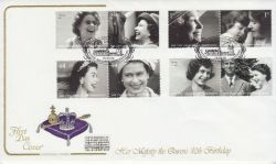 2006-04-18 Queens 80th Birthday Stamps Crathie FDC (82163)