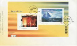 2007-03-15 Canada Art Stamps M/S Mary Pratt FDC (82291)