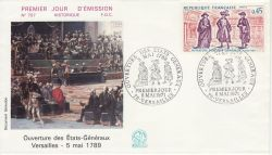 1971-05-08 France History of France Stamp FDC (82295)