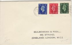 1937-05-10 KGVI Definitive Stamps London FDC (82401)