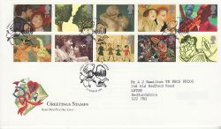 1995-03-21 Greetings Stamps Lover FDC (82434)