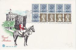 1981-05-06 Definitive Booklet Stamps WINDSOR FDC (82536)