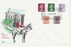1979-10-10 Definitive issue + 10p PCP Windsor FDC (82540)