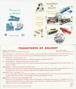 2003-09-18 Transports of Delight M/S Hornby FDC (82592)