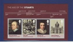 2010-06-15 House of Stuart Stamps M/S MNH (82678)