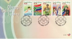 2000-09-01 South Africa Olympic Games FDC (82977)