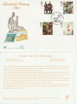 1993-05-11 Art Stamps London WC2 FDC (83009)