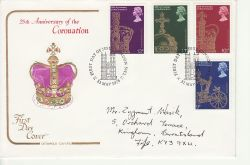 1978-05-31 Coronation Stamps London SW1 FDC (83039)