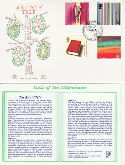 1999-12-07 Artists Tale Stamps Glyndebourne FDC (83137)