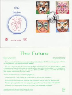 2001-01-16 Hopes for the Future Greenwich FDC (83233)
