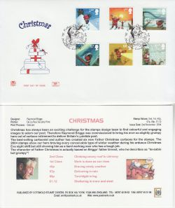 2004-11-02 Christmas Stamps St Nicholas FDC (83256)